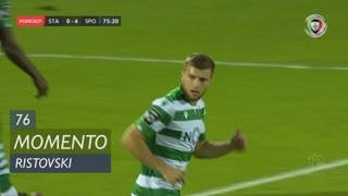 Sporting CP, Jogada, Ristovski aos 76'