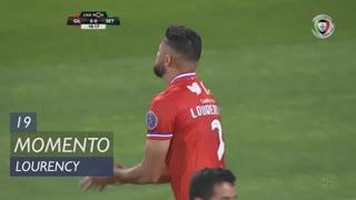 Gil Vicente FC, Jogada, Lourency aos 19'