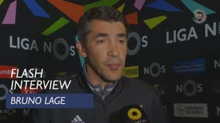 Liga (6ª): Flash Interview Bruno Lage