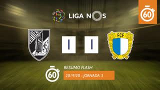 Liga NOS (3ªJ): Resumo Flash Vitória SC 1-1 FC Famalicão