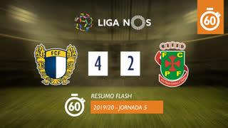 Liga NOS (5ªJ): Resumo Flash FC Famalicão 4-2 FC P.Ferreira