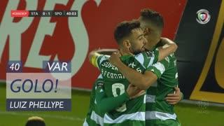 GOLO! Sporting CP, Luiz Phellype aos 40', Santa Clara 0-1 Sporting CP