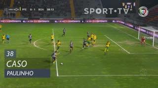 Boavista FC, Caso, Paulinho aos 38'