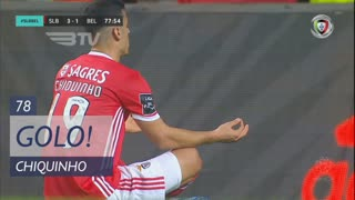 GOLO! SL Benfica, Chiquinho aos 78', SL Benfica 3-1 Belenenses SAD