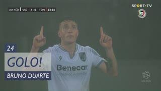 GOLO! Vitória SC, Bruno Duarte aos 24', Vitória SC 1-0 CD Tondela