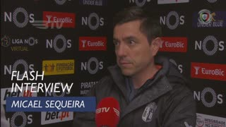 Liga (21ª): Flash Interview Micael Sequeira