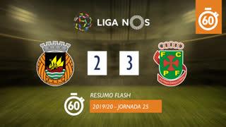 Liga NOS (25ªJ): Resumo Flash Rio Ave FC 2-3 FC P.Ferreira