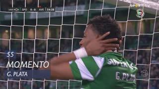 Sporting CP, Jogada, G. Plata aos 55'