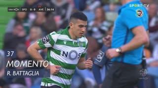 Sporting CP, Jogada, Rodrigo Battaglia aos 37'
