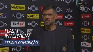 Sérgio Conceição elogiou personalidade e carácter dos seus jogadores