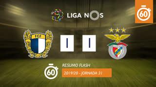 Liga NOS (31ªJ): Resumo Flash FC Famalicão 1-1 SL Benfica