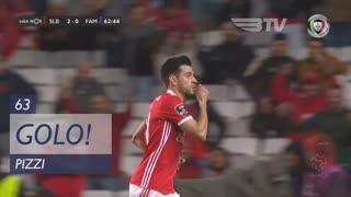 GOLO! SL Benfica, Pizzi aos 63', SL Benfica 3-0 FC Famalicão