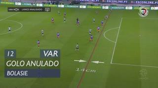 Sporting CP, Golo Anulado, Bolasie aos 12'