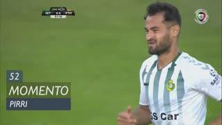 Vitória FC, Jogada, Pirri aos 52'