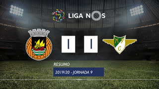 Liga NOS (9ªJ): Resumo Rio Ave FC 1-1 Moreirense FC