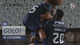GOLO! Belenenses, M. Cassierra aos 86', Belenenses 1-0 FC P.Ferreira