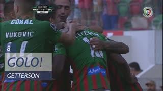 GOLO! Marítimo M., Getterson aos 8', Marítimo M. 1-0 Sporting CP