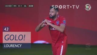 GOLO! Gil Vicente FC, Lourency aos 43', Vitória FC 0-1 Gil Vicente FC
