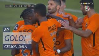 GOLO! Rio Ave FC, Gelson Dala aos 80', Vitória FC 1-2 Rio Ave FC