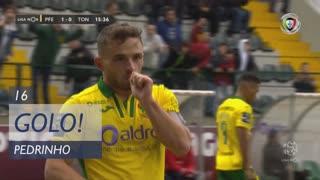 GOLO! FC P.Ferreira, Pedrinho aos 15', FC P.Ferreira 1-0 CD Tondela