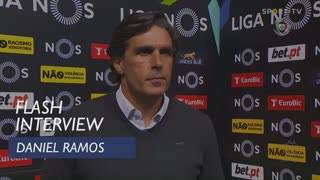 Daniel Ramos quer voltar já às boas exibições e resultados