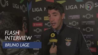 Liga (11ª): Flash Interview Bruno Lage