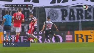 SL Benfica, Caso, F. Cervi aos 8'