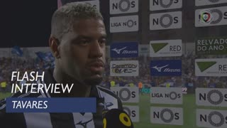 Liga (5ª): Flash Interview Tavares