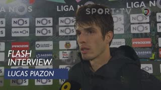 Liga (21ª): Flash Interview Lucas Piazon
