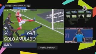 SL Benfica, Golo Anulado, Rafa aos 50'
