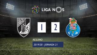 Liga NOS (21ªJ): Resumo Vitória SC 1-2 FC Porto