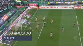 Sporting CP, Golo Anulado, G. Plata aos 23'