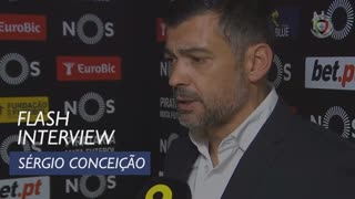 Liga (15ª): Flash Interview Sérgio Conceição