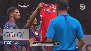 GOLO! SL Benfica, Pizzi aos 25', SC Braga 0-1 SL Benfica