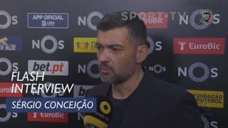 Liga (19ª): Flash Interview Sérgio Conceição