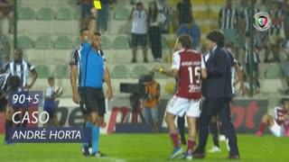 SC Braga, Caso, André Horta aos 90'+5'