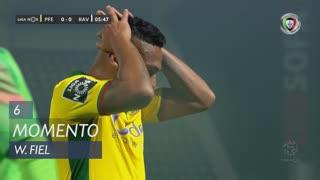 FC P.Ferreira, Jogada, W. Fiel aos 6'