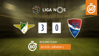 Liga NOS (2ªJ): Resumo Flash Moreirense FC 3-0 Gil Vicente FC
