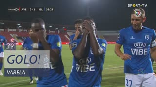 GOLO! Belenenses SAD, Varela aos 39', CD Aves 0-2 Belenenses SAD