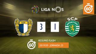 Liga NOS (23ªJ): Resumo Flash FC Famalicão 3-1 Sporting CP