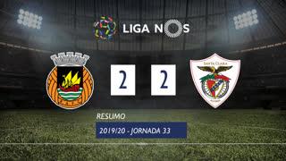 I Liga (33ªJ): Resumo Rio Ave FC 2-2 Santa Clara