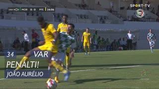 Moreirense FC, Penálti, João Aurélio aos 34'