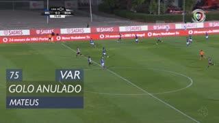 Boavista FC, Golo Anulado, Mateus aos 75'