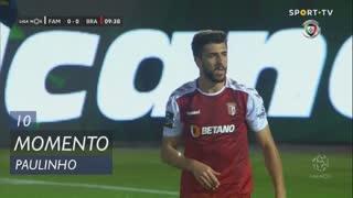 SC Braga, Jogada, Paulinho aos 10'