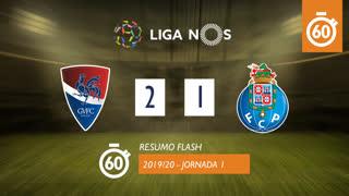 Liga NOS (1ªJ): Resumo Flash Gil Vicente FC 2-1 FC Porto