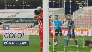GOLO! Gil Vicente FC, Rúben Ribeiro aos 36', Gil Vicente FC 2-0 CD Aves