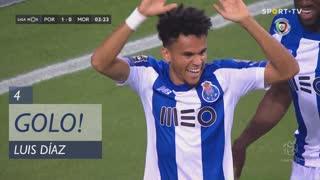 GOLO! FC Porto, Luis Díaz aos 4', FC Porto 1-0 Moreirense FC