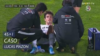 Rio Ave FC, Caso, Lucas Piazon aos 45'+1'