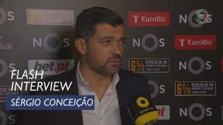 Liga (12ª): Flash Interview Sérgio Conceição