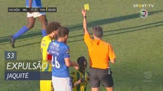 CD Tondela, Expulsão, Jaquité aos 53'